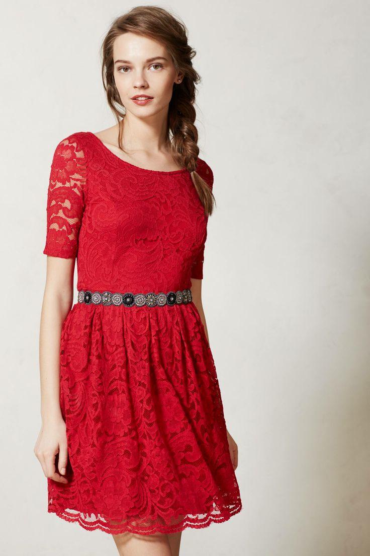 Foliage Lace Dress - anthropologie.com #anthrofave