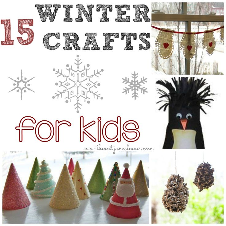 Whether Its Keeping Kids Entertained On A Cold Winter Day Making Decorations For Your Home Or Gifts Family There Are Lots Of Great Crafts Out