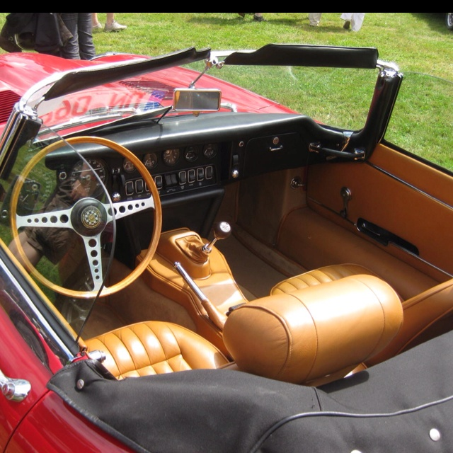 interior of a jag e type products i love pinterest cars car interiors and wheels. Black Bedroom Furniture Sets. Home Design Ideas