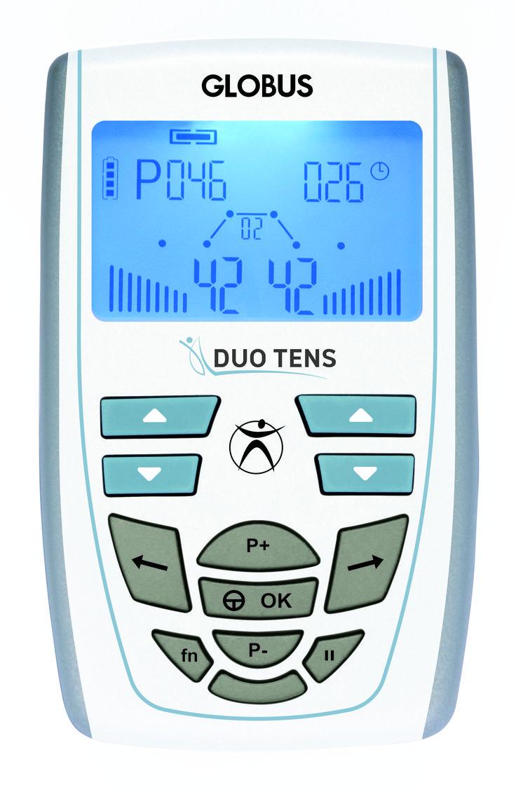 El electroestimulador Duo Tens de Globus está especialmente diseñado para combatir el dolor, gracias a sus 16 programas TENS. Si sufres de dolores pincha aquí e infórmate https://www.fitnessybienestar.com/electroestimulador-globus-duo-tens/