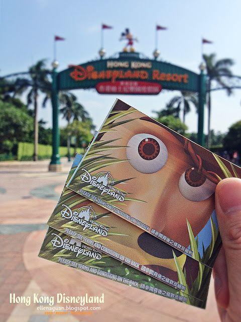 Cuisine Paradise | Singapore Food Blog | Recipes, Reviews And Travel: [Day 1] Exploring Hong Kong Disneyland - Part I plus Short Clip on Firework