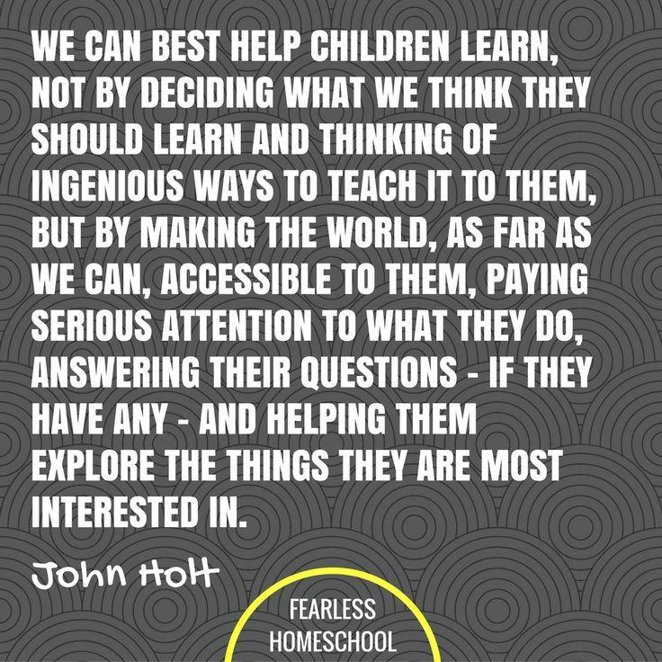 john holt teach your own pdf