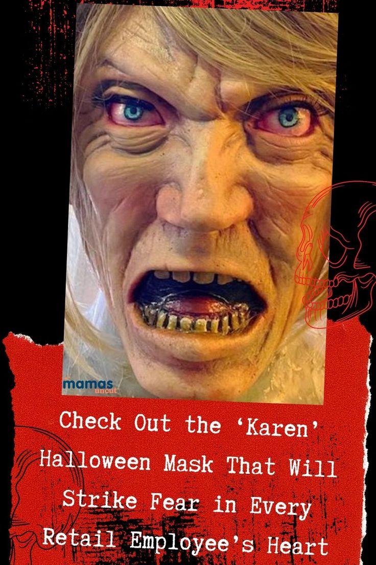 Artist Creates Terrifyingly Aggrieved Karen Halloween Mask