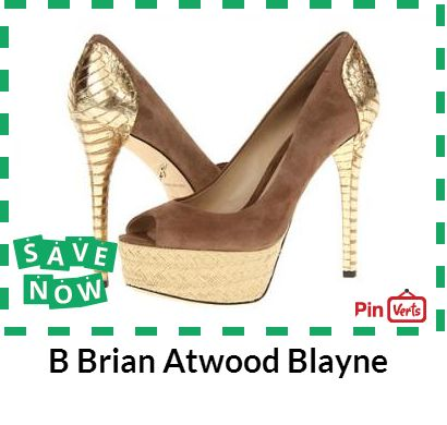 The B Brian Atwood Blayne pumps never miss a beat when it comes to spot-on style! Leather upper, slip-on silhouette, peep-toe design, leather lining and lightly cushioned footbed. Check out at http://pinverts.com/B-Brian-Atwood-Blayne_m86y1lk