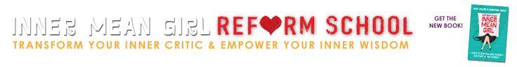 Website layout - Inner Mean Girl Reform School