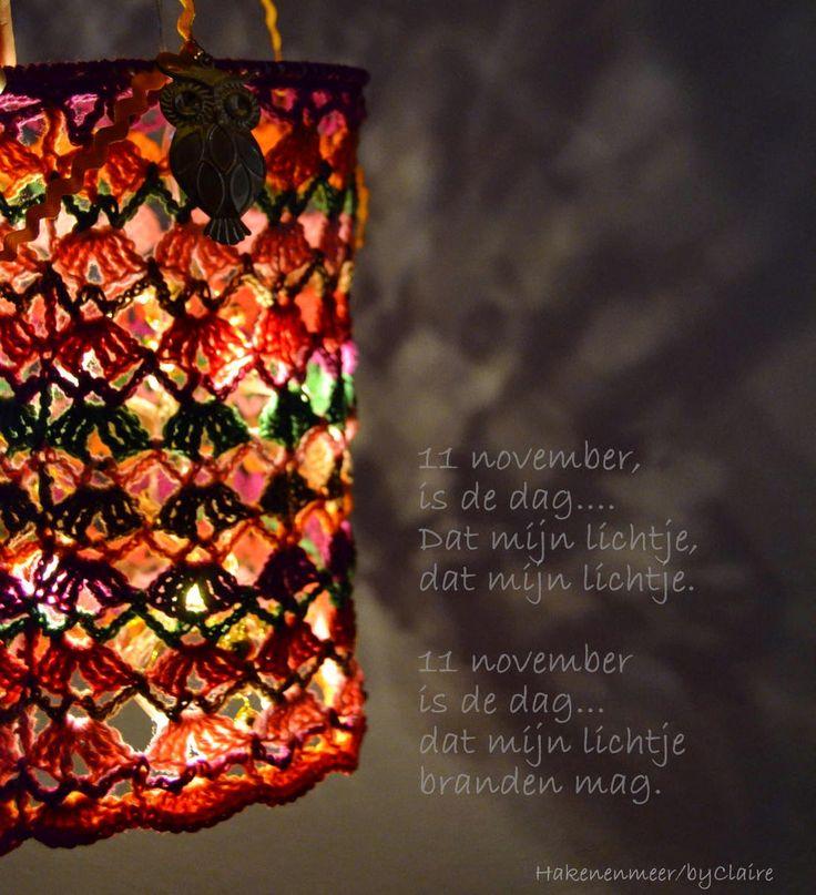 Haken en meer lampion patroon