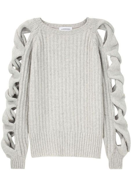 summer sweater: Sweaters, Fashion, Style, Clothes, Sleeve, Julien Macdonald