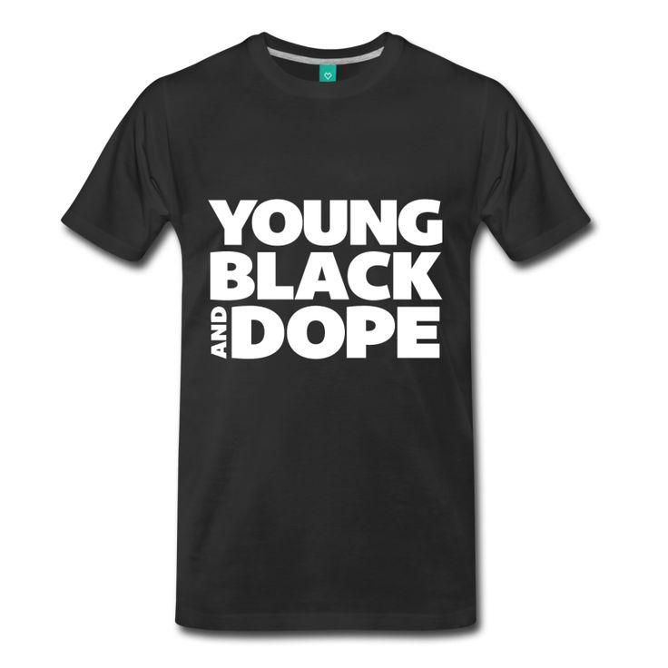 Young, Black and Dope - Men's - Men's Premium T-Shirt