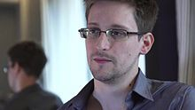 Snowden speaks about the NSA leaks, in Hong Kong, filmed by Laura Poitras. / File:PRISM - Snowden Interview - Laura Poitras HQ.webm