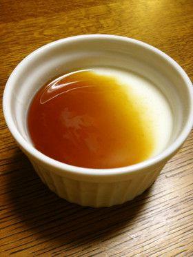 *和風デザート 豆腐のプリン