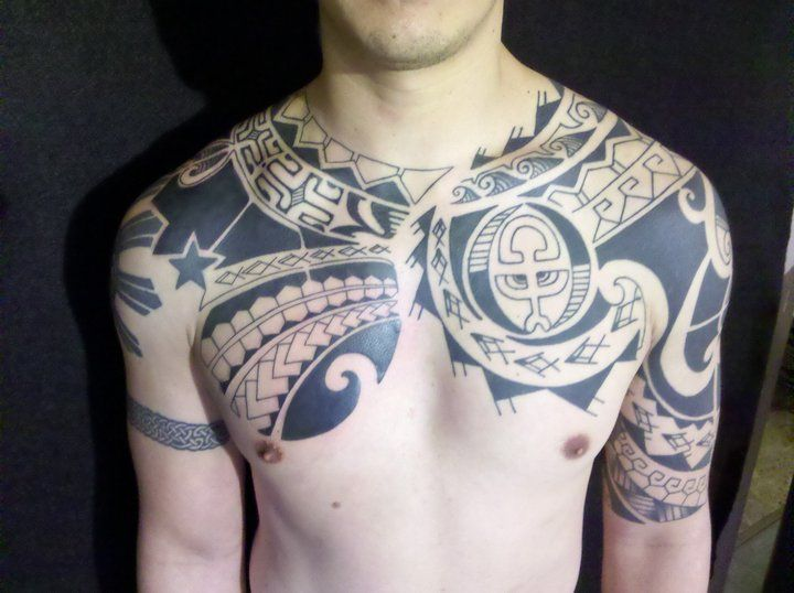 95 best images about polynesian tribal and color tattoos for Peruvian tattoos designs