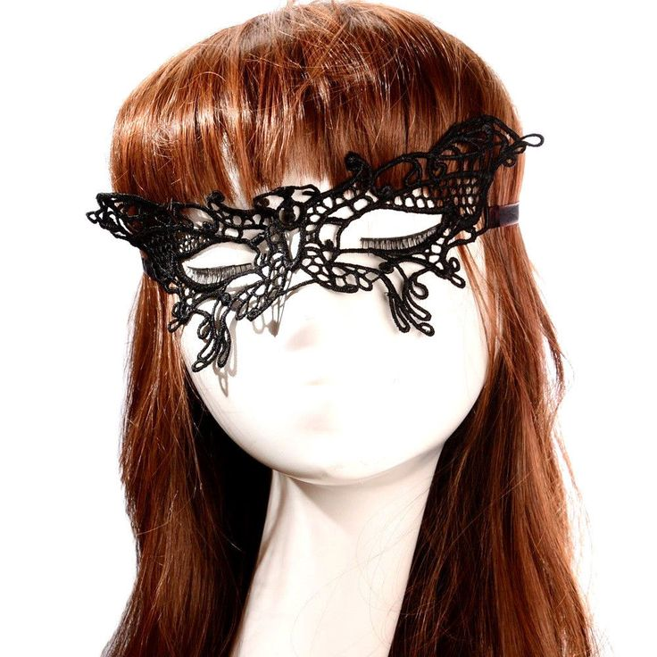 Butterfly Sexy Black Lace Mask Party Ball Masquerade Mask Dress Mask Black