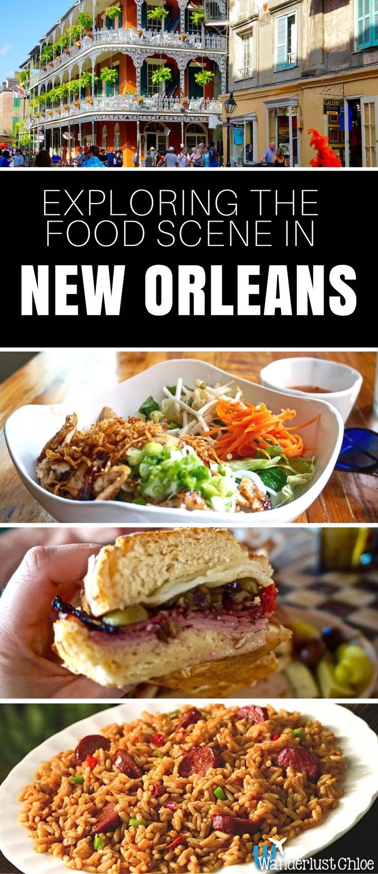 Delve into the world of beignets, po' boys, gumbo, mufulettas and crawfish in the French Quarter of New Orleans – one of the food capitals of the world!