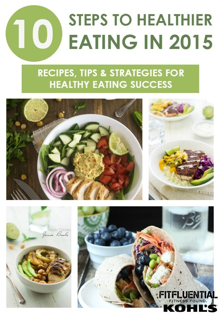 Ten Ways to #MakeYourMove to Healthier Eating - part of our sponsored campaign with @kohls challenging you to make moves for a healthier 2015 #FitFluential (recipes, tips and  tricks in this post, don't miss it!)