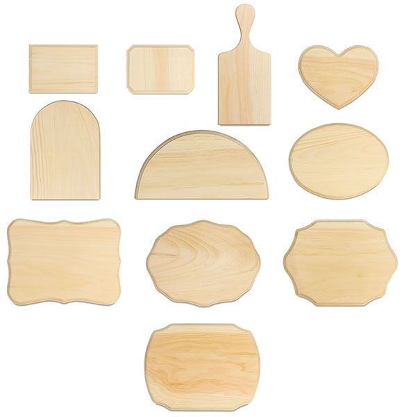 another place for wood plaques to use for picture frame...