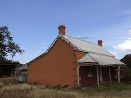 Another old derelict house, this one was built around 1870.