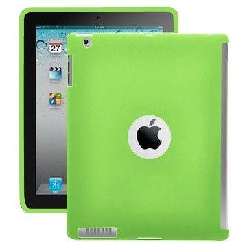 Color Shell (Grønn) iPad 2 Deksel