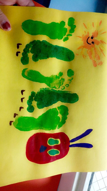 38 best Footprint/Handprint Art images on Pinterest | Crafts for ...
