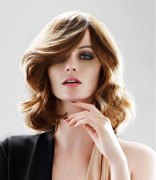 Alexandre de Paris   Medium Brown Wavy Hairstyle