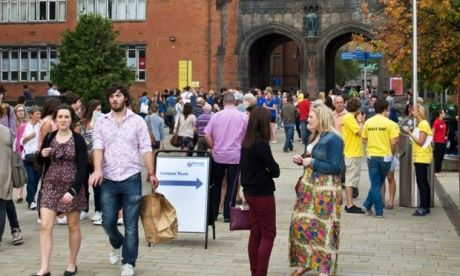 The problem with university open days