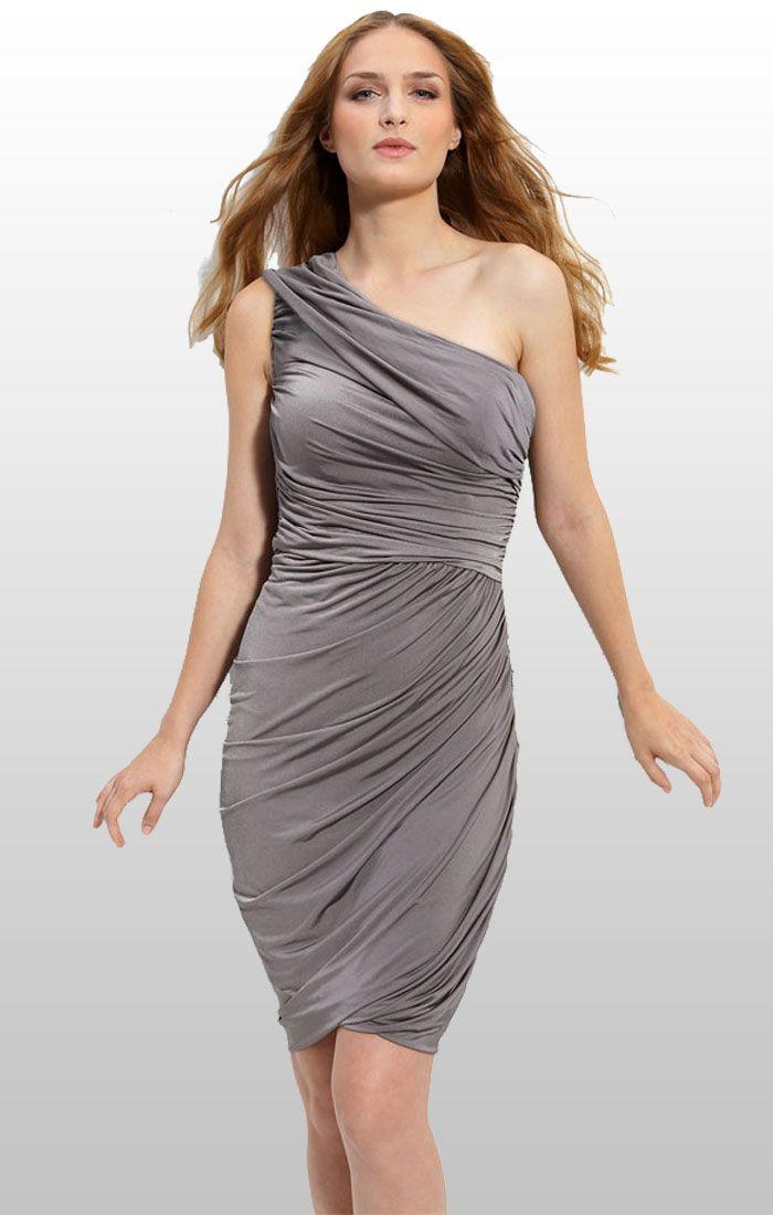 25  best One shoulder cocktail dress ideas on Pinterest | One ...