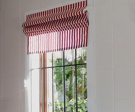 Easy Roman blinds
