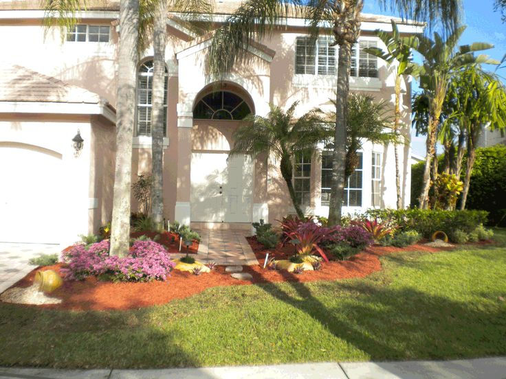 Best Florida Landscaping  Outdoor Ideas Images On Pinterest - Florida landscaping ideas for front yard