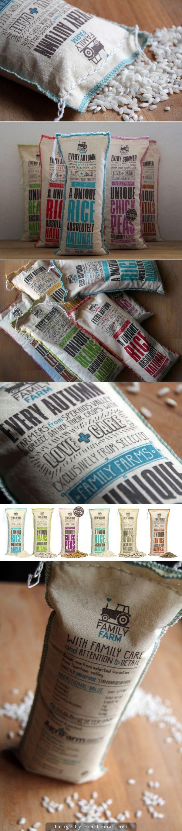 - Packaging - Food - Rice - Bag - Organic - Family Farm Pulses