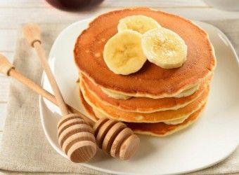 Pancakes μπανάνα με 3 υλικά   InfoKids
