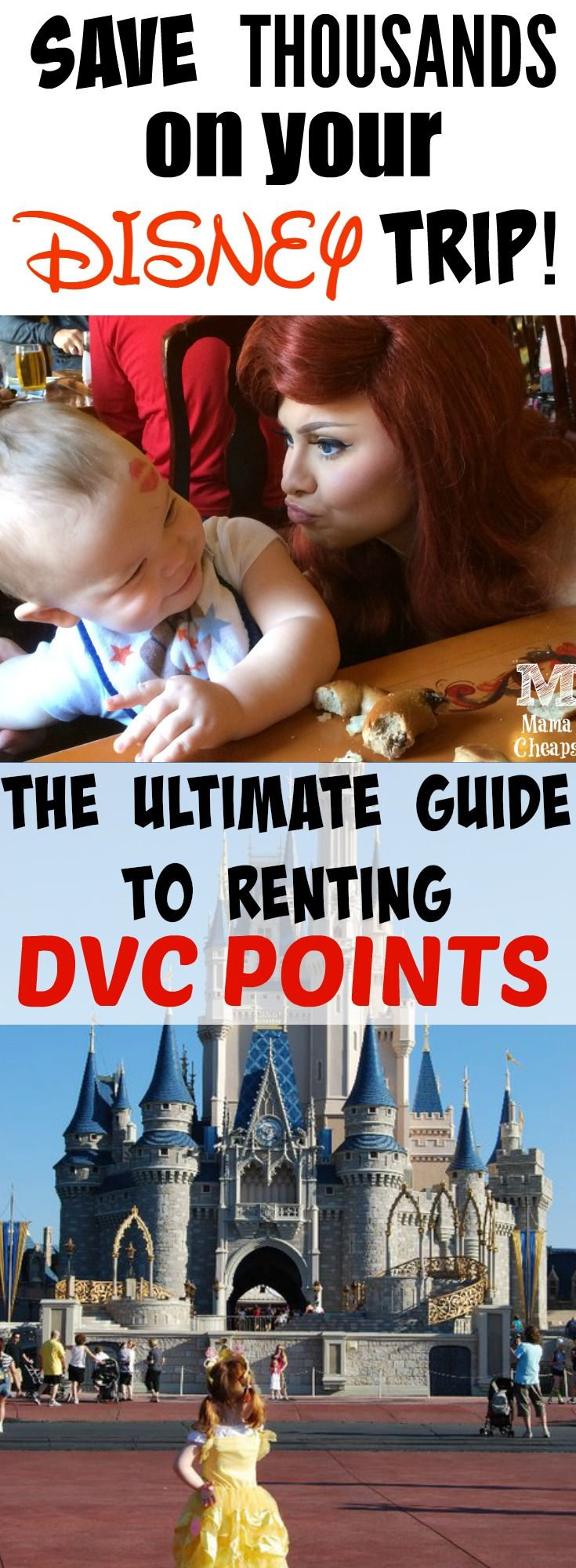 The Ultimate Guide to Renting DVC Points (and saving THOUSANDS on your Disney Trip!!) Find more great Disney tips and tricks at MamaCheaps.com!