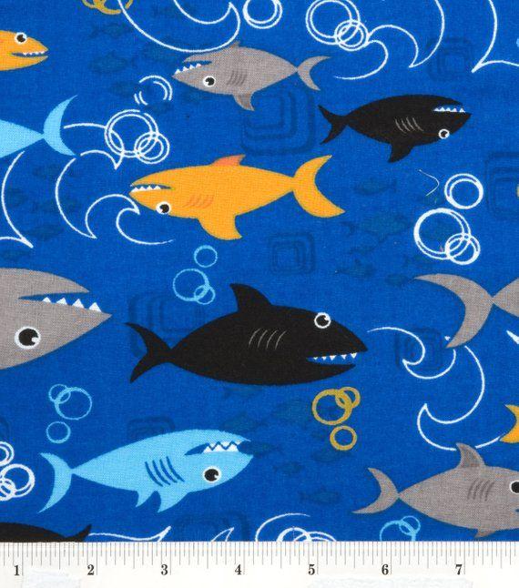 SEA CORALS Fabric Fat Quarter Cotton Craft Quilting SEALIFE Marine