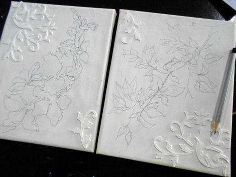 Petroschi Bianca - Pictura si deco aplicatii pe panza (24)