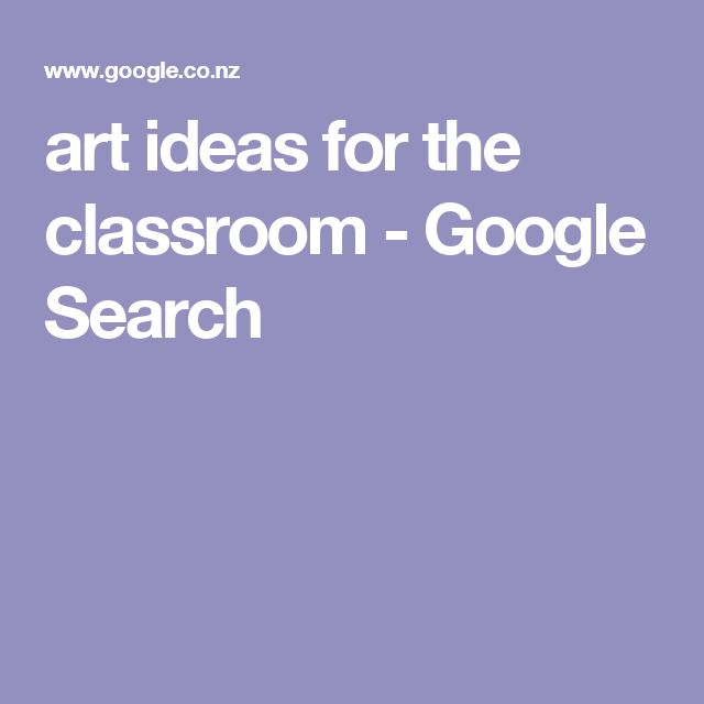 art ideas for the classroom - Google Search