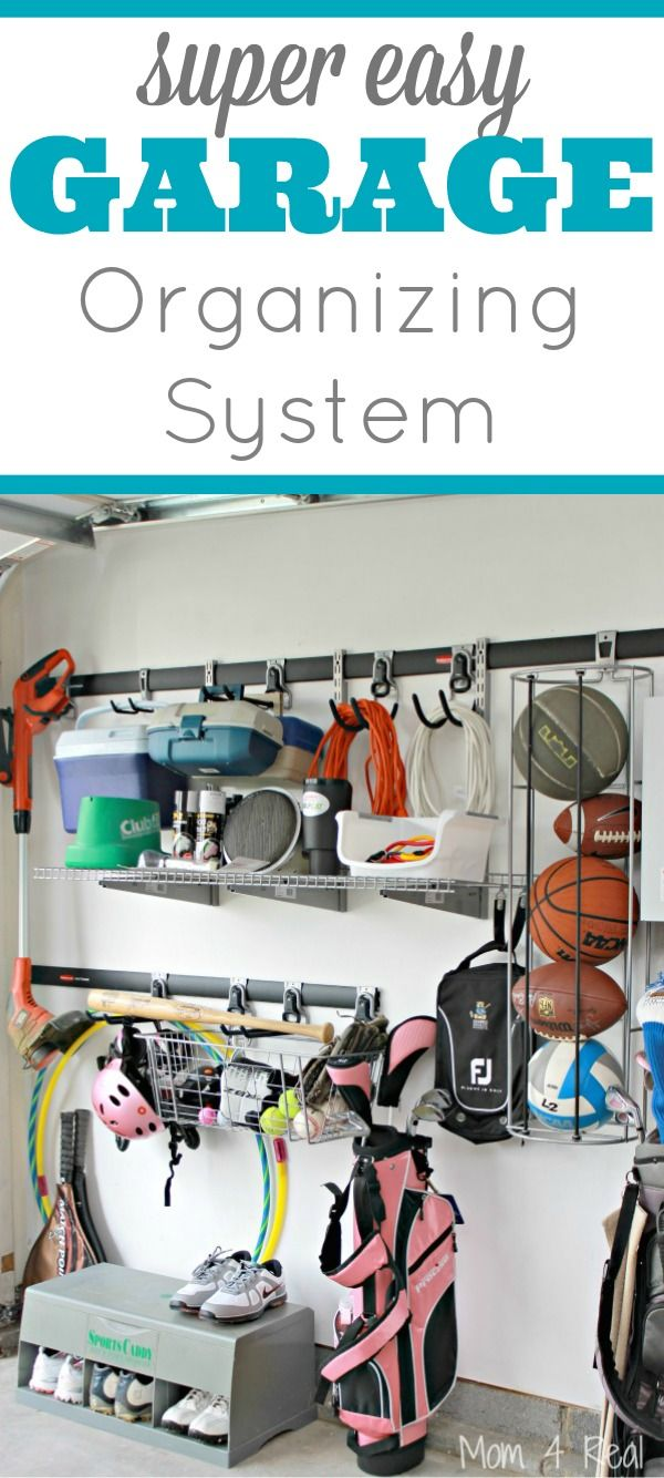 30 best garage outdoor organization images on pinterest garage super easy garage organization ideas solutioingenieria Gallery