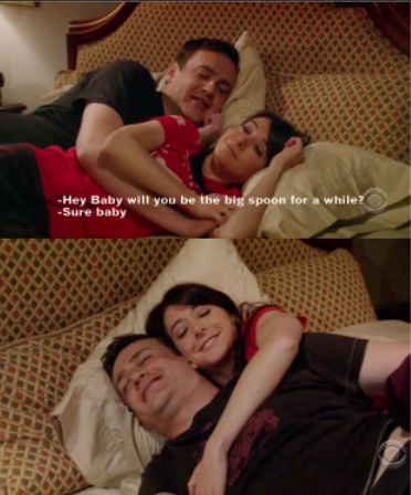Marshal and Lily - too cute :)