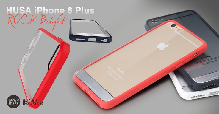 Husa Rock Bright prezinta frumusetea originala a iPhone-ului, designul fiind elegant si unic.
