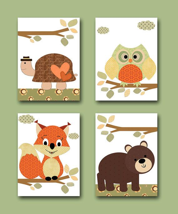 Hey, I found this really awesome Etsy listing at https://www.etsy.com/listing/175387465/kids-wall-art-turtle-nursery-bear