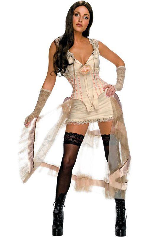 New!! Jonah Hex - Lilah Saloon Girl Adult Costume - Small - Halloween - Cosplay