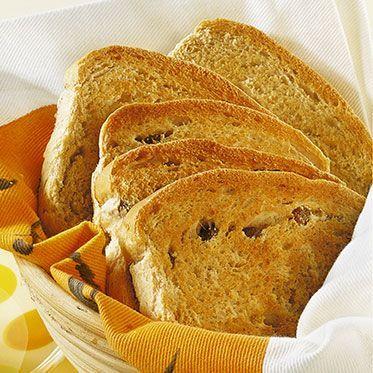 Rosinenbrot - Rezept für den Brotbackautomat