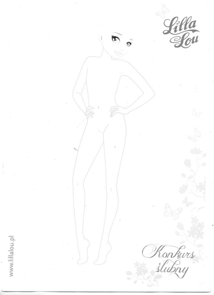 Model Zum Anziehen