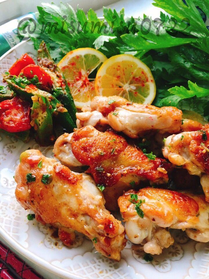 misuzu's dish photo 手羽元のレモングラス炒め | http://snapdish.co #SnapDish #レシピ #美容/ダイエット #夏に勝つエスニック料理大募集♪ #肉料理 #おつまみ #ベトナム料理