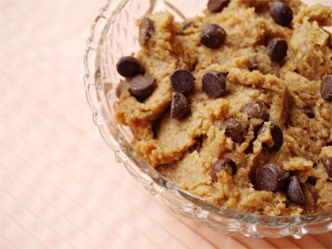Healthy Cookie Dough you can eat by the spoonful {or bowlful ;)}Healthy Cookie Dough, Healthy Eats, Healthy Cookies Dough, Recipe, Baking Kind, Vegan Cookies Dough, Healthy Eating, Cookies Baking, Healthy Feelings