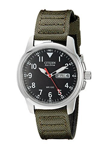 Great gift idea Citizen Men's BM8180-03E Eco-Drive Analog Japanese Quartz Green Watch
