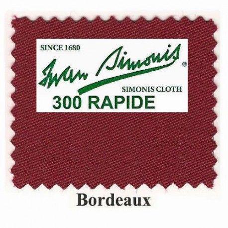 Kit tapis Simonis 300 B220 Bordeaux - 260,00 €  #Jeux