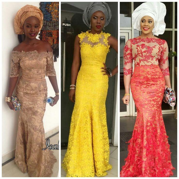 Nigerian Wedding Styles: Classy, Trendy And Uber Fabulous Aso-Ebi Styles