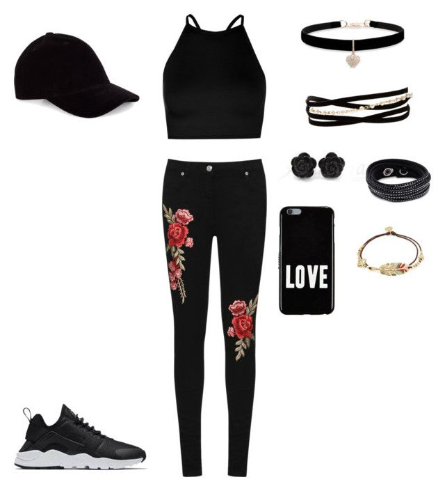 """""""*my style*<3 :))"""" by briana-maria-simon on Polyvore featuring Boohoo, WearAll, Le Amonie, Betsey Johnson, Kenneth Jay Lane, Swarovski, Gas Bijoux, NIKE and Givenchy"""