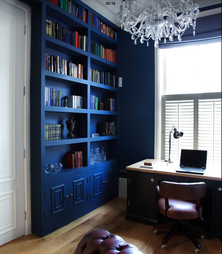 Home Office Coastal Bookcase Condos Blues Colorful Furniture Crystal Chandeliers Crystals Beleza