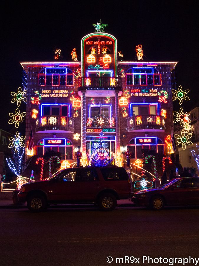 Christmas Lights, Dyker Heights, Brooklyn, NYC