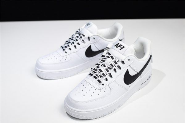 Women Nike Air Force 1 LV8 WhiteBlack 820438 108 For Sale