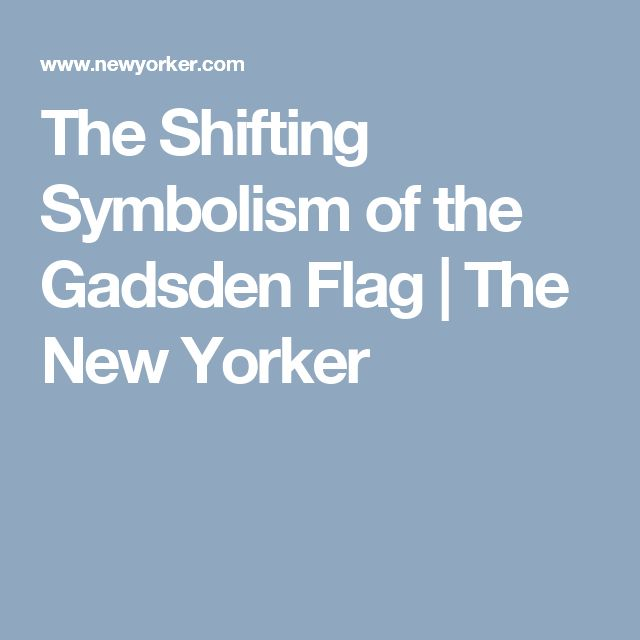 The Shifting Symbolism of the Gadsden Flag | The New Yorker